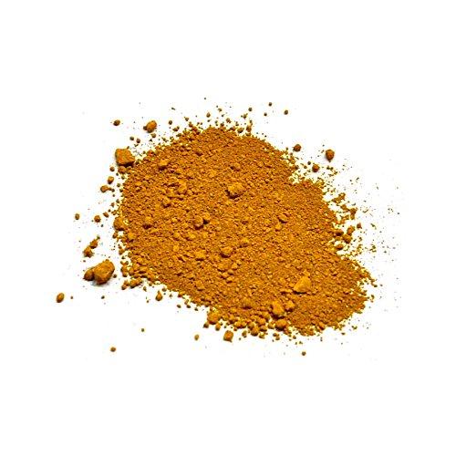 Lienzos Levante Pigmento Puro, 9 Amarillo de Óxido de Hierro, Tarro de 100 ml