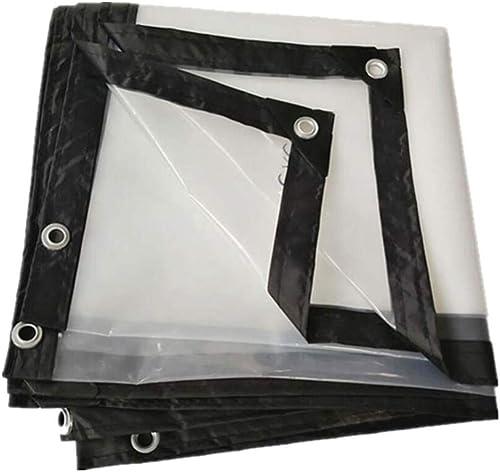 F-S-B BacheBache Transparente épaississant bordant Le Film de Serre - Culture de Serre - fenêtre de bache de Prougeection de fenêtre de bache imperméable - 120 g  ,5  8m
