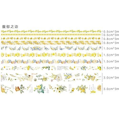 WYLJD Decorative Washi Tape 10 pcs/lot Bande Dessinée Bande de base Die découpe DIY Papier Pokemon Décoratif Ruban Adhésif/Bande Autocollants