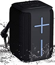 Bluetooth Speaker, Gaslike Portable Bluetooth Speakers 5.0 with TWS Pairing for 360° Louder Stereo Sound, Built-in Mic, Waterproof Portable Wireless Speaker for Shower, Pool, Party, Travel, Outdoors