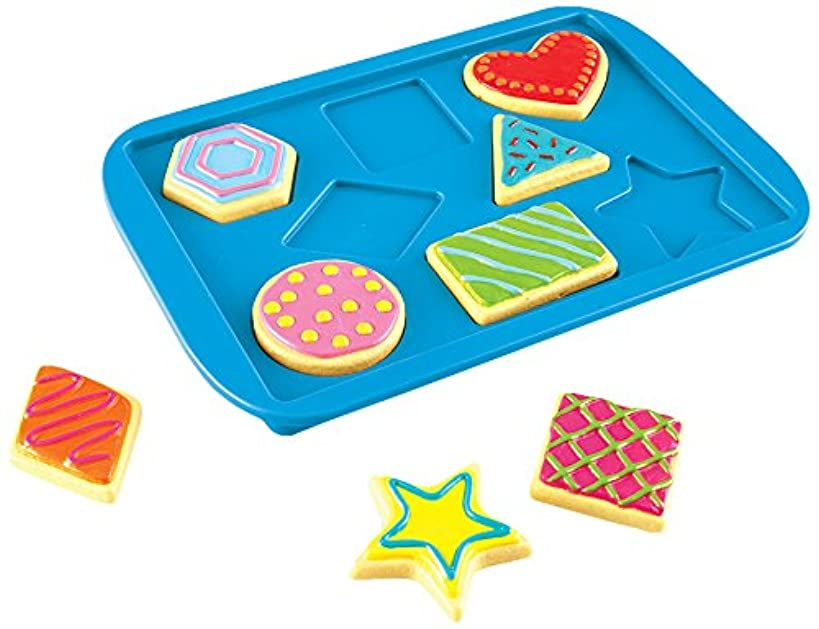 Learning Resources Shape Matching Cookies, 9 Pieces