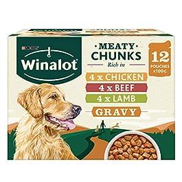 WINALOT Dog Food Mixed in Gravy 12 x 100 g