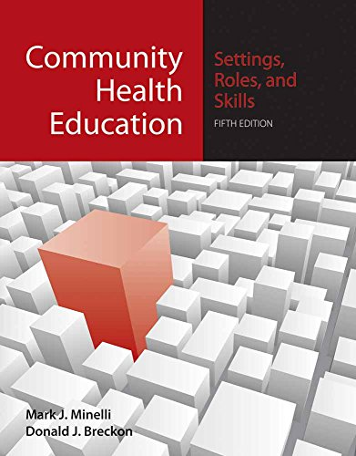 Community Health Education: Settings, Roles, and Skills:...