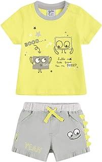YATSI - Conjunto pantalón y Camiseta bebé bebé-niños