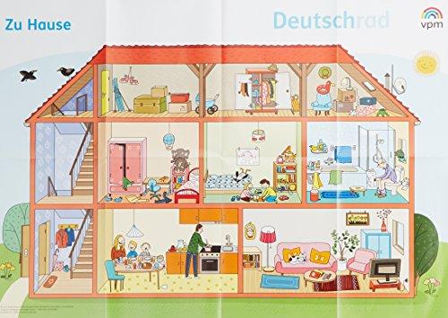 Deutschrad 1/2: Poster Wimmelbilder Klasse 1/2 (Deutschrad. Ausgabe ab 2018)