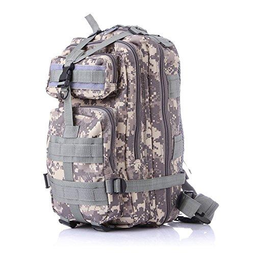 Minetom Jungen Herren 30L Camouflage Rucksack Laptop-Rucksack Rekkingrucksäcke Für Outdoor Wandern Camping Trekking Jagd Camouflage01 One Size