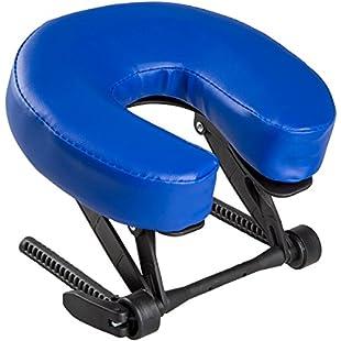 3B Scientific 1013732 Adjustable Headrest with Plastic Brackets, Dark Blue:Maskedking