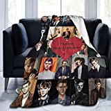 xianrenzhang Thomas B-Rodie Sangste-r Ultra-Soft Fleece Blanket.Super Soft Plush Blanket for Bed Couch Sofa 50 X 40 in