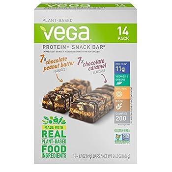 Vega Protein Plus Snack Bar 14 Piece Variety Pack