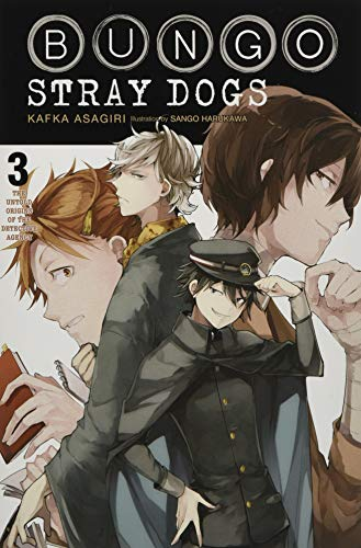 Bungo Stray Dogs Light Novel 3: The Untold Origins of the Detective Agency