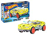 Revell 50313 Twinduction - Coche de Juguete (Escala 1:32, con Salto Hot Wheels Maker Kitz, para Montar y Conducir, con Motor retráctil (Pull Back), Color Amarillo