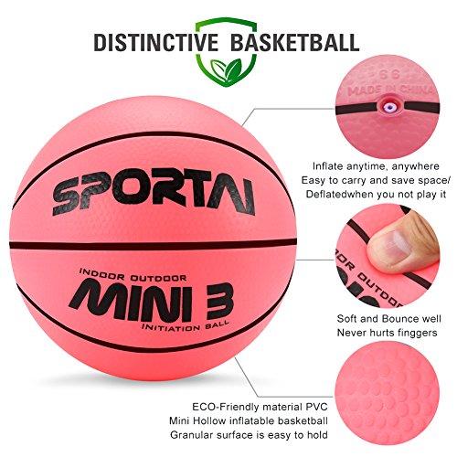 Pelota de baloncesto mini para interior o piscina para niños ...