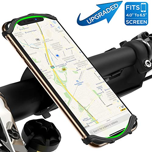 VUP 自転車ホルダー スマホホルダー 改 良モデル 360度回転 4-6.5インチ iPhone11 iphone11pro Android等全...