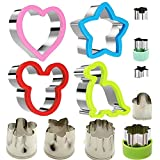Stainless Steel Sandwiches Cutter set, Mickey...