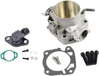 70mm Cast Throttle Body + TPS Sensor For Honda Civic CRX Del Sol Prelude Integra S2000 B/D/F/H Series M/T