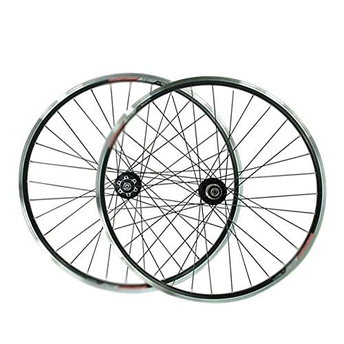 Juego De Ruedas De Bicicleta De Montaña 26 Pulgadas Aluminio V Freno/Freno De Disco DH19 / DP20 7-11 Velocidades 32H Ruedas De Bicicleta De Carretera (Color : V Brake)