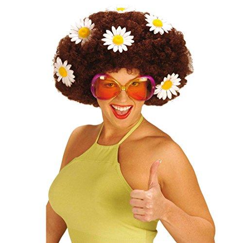 NET TOYS Lunettes de soirée Hippie Sugar Baby Femme Lunette Rouge Orange Lunettes de Femme fête Mardi Gras Carnaval