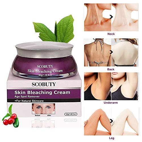 Scobuty Skin Bleaching Cream Review