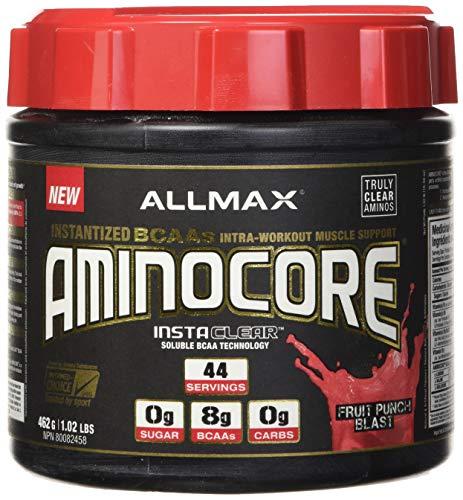 AllMax Nutrition Aminocore, Fruit Punch Explosion - 462 g