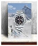 CCZWVH Rolex Men Watches HD Modular Pictures Canvas Baiyun Pintura Arte de la Pared Pósteres Imprimir Moderno Sala de Estar Decoración de la casa 16x24 Inch Sin Marco