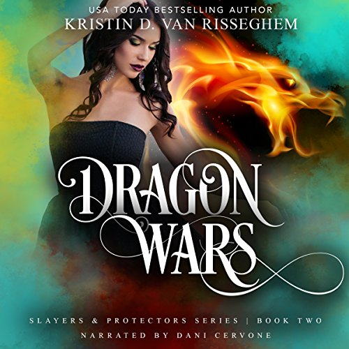 Dragon Wars audiobook cover art