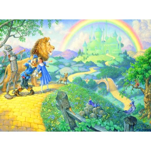 SUNSOUT INC Journey to Oz 63pc Childrens Jigsaw Puzzle by Scott Gustafson