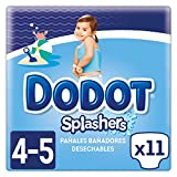 Dodot Splashers Talla 4, 11 Pañales Bañadores Desechables, 9-15kg, No Se...