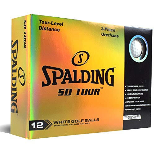 Spalding SD Tour 12 Bälle – Weiß