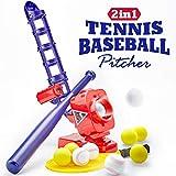 CubicFun Baseball Pitching Machine for Kids Outdoor Toys for Kids 6-12 Boys Girls, Baseball Tennis Training...