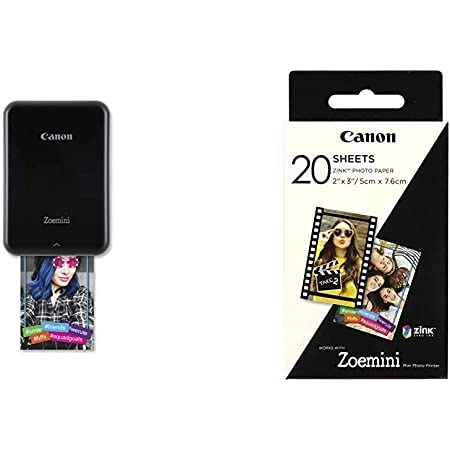 Canon Zoemini Mini Fotodrucker Schwarz 3214c002 Kamera