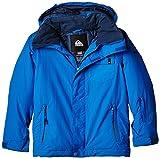 Quiksilver Mission Plain vnqvyap Chaqueta de Nieve, otoño/Invierno, niño, Color Azul - Azul, tamaño 12