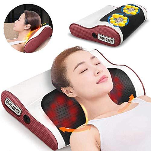 Preisvergleich Produktbild None Brand Shiatsu Massagekissen Allzweck-shiatsu-massagekissen Mit Tiefem Kneten Und Beruhigender Hitze Entspannende Muskelverspannungen In Rücken Nacken Schultern Lendenwirbelsäule Und Beinen