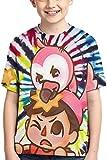 XCNGG Niños Tops Camisetas Albertsstuff+Flamingo T-Shirt Boys,Kids Girls...