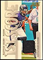 MARQUISE BROWN - 2020 Score Football JERSEY PATCH Card - 1st Score Short Printed Insert - Baltimore Ravens