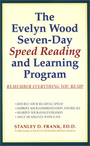 Evelyn Wood: 7 Day Speed Reading (Highbridge Distribution)