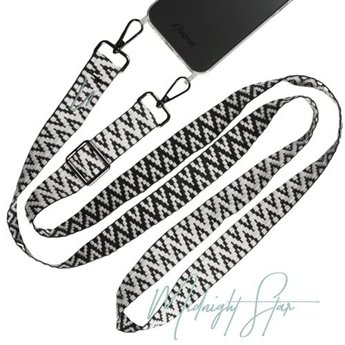 NOOMYA® Fashion Handykette | universal Handy Wechselband zum Umhängen für Smartphone | passend für iPhone Handyhülle 6 | 7 | 8 | X | XS | XR | 12 | 12 Pro | 12 Pro MAX | Handytasche