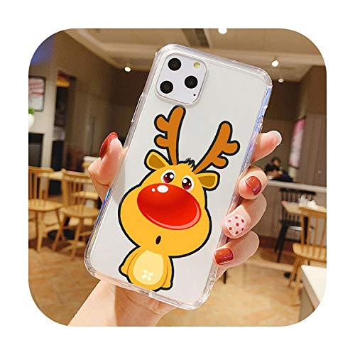 Happy new year merry phone Case For Samsung A5 2017 S6 Edge S5 A9 A6 A8 2018 M10 NOTE 10 NOTE 8 TPU Silicone Case-TPU A1533-For Samsung S20