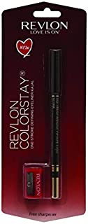 Revlon One-Stroke Defining Eyeliner Kajal, Hot Fudge, 1.2g