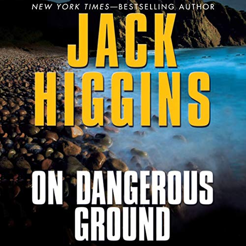 On Dangerous Ground audiobook cover art