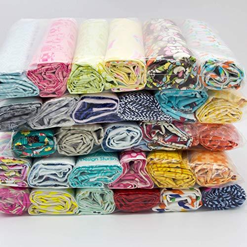 Stoff Stoffpaket Restepaket Amerikanische Designer-Stoffe 3m ideal für Patchwork - Stoff zum Nähen - zum Sammeln