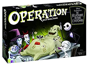 Operation Disney The Nightmare Before Christmas Board Game   Collectible Operation Game   Featuring Oogie Boogie & Nightmare Before Christmas Artwork