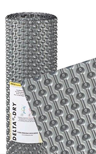 DELTADRY Rainscreen 3.3' X 50' Roll (164 sqft) 10.5 mm