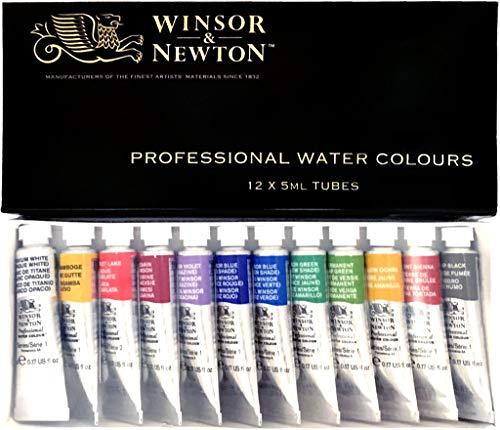 Windsor & Newton Artists Water 5ML Tube 12C Set (Japan Import)