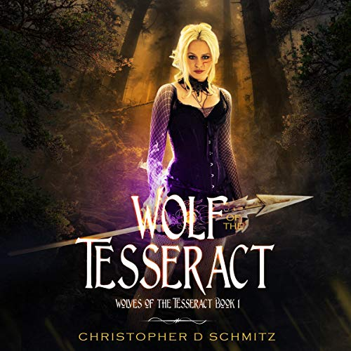 Wolf of the Tesseract audiobook cover art