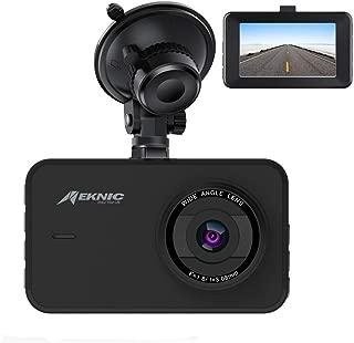 Meknic A1 Dash Camera for Cars,FHD1080P Car DVR Recorder,Dash Cam Dashboard Car Camera Full HD With 3