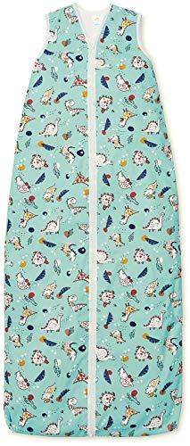 Kinderschlafsack 130 cm | Fleece-innenfütter | 3.0 TOG | 3-6 Jahre | Dino