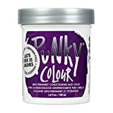 Punky Purple Semi Permanent Conditioning Hair Color, Non-Damaging Hair Dye, Vegan, PPD and Paraben Free, Transforms to Vibrant Hair Color, Easy To Use and Apply Hair Tint, lasts up to 35 washes, 3.5oz