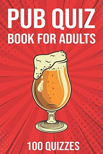 Pub Quiz Book for Adults General Knowledge Quiz Books 2020 2000 Questions 100 Quizzes product image