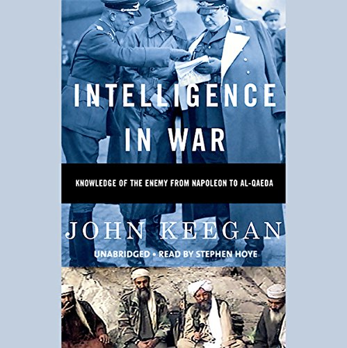 Intelligence in War audiobook cover art