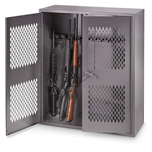 HQ ISSUE Metal Gun Locker, 12 Gun Capacity